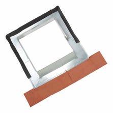 Abergement réglable Zinc pour boisseau de 30 à 60 cm plomb naturel