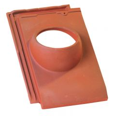 Accessoire terre cuite d'EDILIANS : Tuile à douille HP 10 160 Conforme VMC