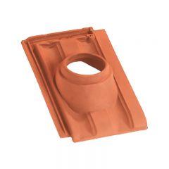 Accessoire terre cuite d'EDILIANS : Tuile à douille PV 10 160 Conforme VMC