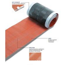 Closoir souple ZEF déroulable ventilé tout aluminium 300 rouge 5 ML